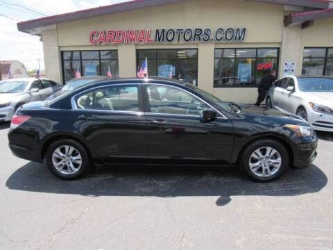 2012 Honda Accord for sale at Cardinal Motors in Fairfield OH