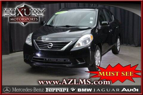 2012 Nissan Versa for sale at Luxury Motorsports in Phoenix AZ