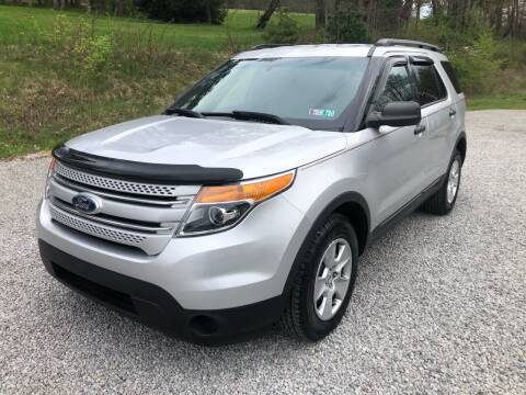 2012 Ford Explorer for sale at R.A. Auto Sales in East Liverpool OH