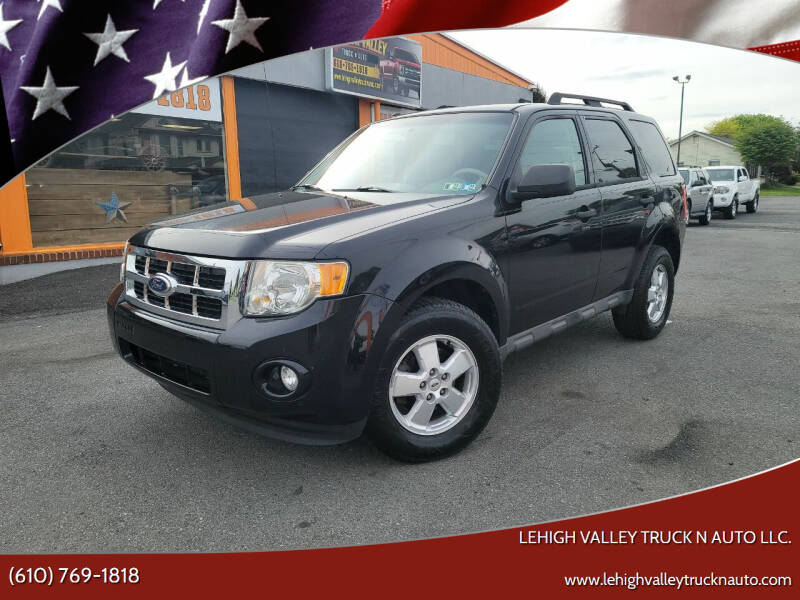 2010 Ford Escape for sale at Lehigh Valley Truck n Auto LLC. in Schnecksville PA