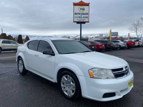 2014 Dodge Avenger for sale at TDI AUTO SALES in Boise ID
