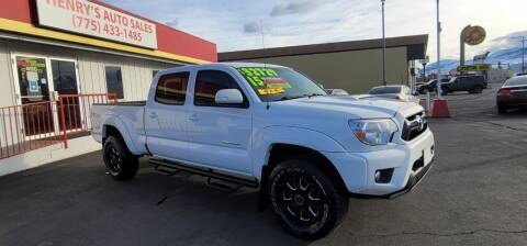 2015 Toyota Tacoma for sale at Henry's Autosales, LLC in Reno NV
