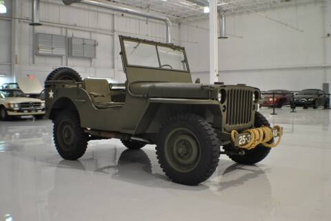 1942 Ford GPW 1/4 TON 4X4 for sale at Euro Prestige Imports llc. in Indian Trail NC