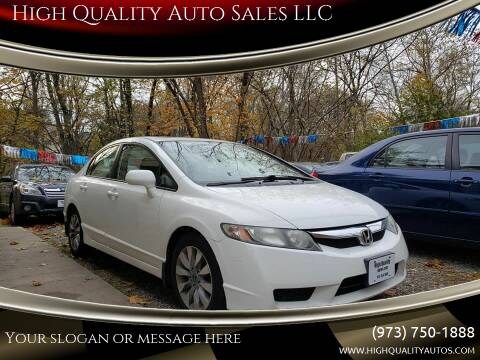 2009 Honda Civic for sale at High Quality Auto Sales LLC in Bloomingdale NJ