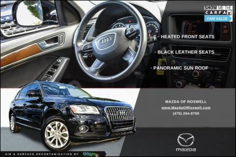 2017 Audi Q5 for sale at Mazda Of Roswell in Roswell GA