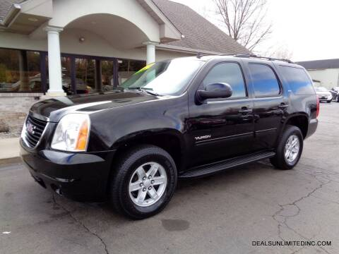 2012 GMC Yukon for sale at DEALS UNLIMITED INC in Portage MI