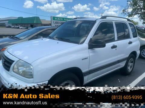 2003 Suzuki Vitara for sale at K&N Auto Sales in Tampa FL