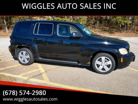 2010 Chevrolet HHR for sale at WIGGLES AUTO SALES INC in Mableton GA