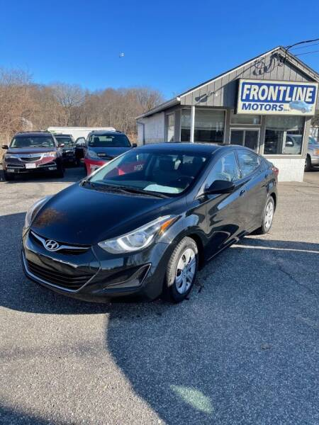2016 Hyundai Elantra for sale at Frontline Motors Inc in Chicopee MA