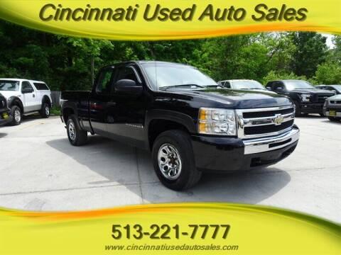 2009 Chevrolet Silverado 1500 for sale at Cincinnati Used Auto Sales in Cincinnati OH