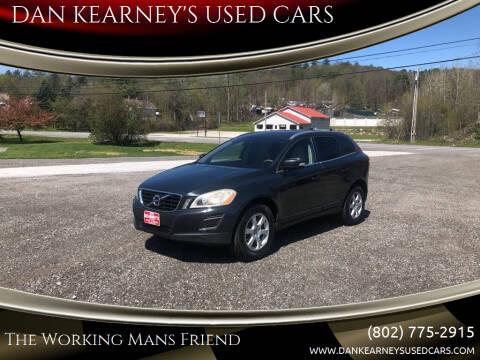 2011 Volvo XC60 for sale at DAN KEARNEY'S USED CARS in Center Rutland VT