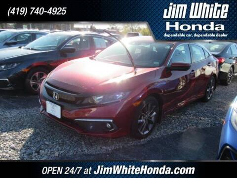 2019 Honda Civic for sale at The Credit Miracle Network Team at Jim White Honda in Maumee OH