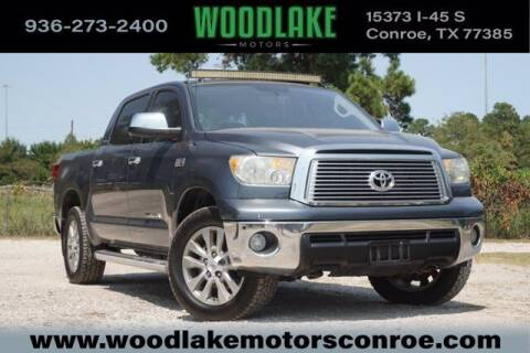 2010 Toyota Tundra for sale at WOODLAKE MOTORS in Conroe TX