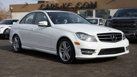 2014 Mercedes-Benz C-Class for sale at Cars-KC LLC in Overland Park KS