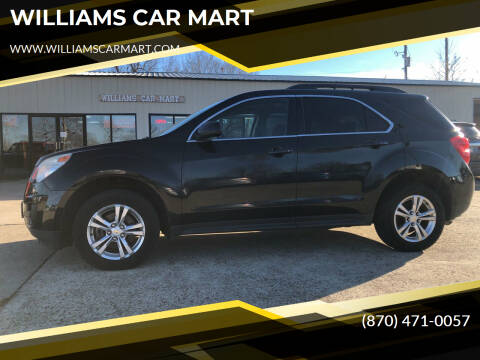 2010 Chevrolet Equinox for sale at WILLIAMS CAR MART in Gassville AR