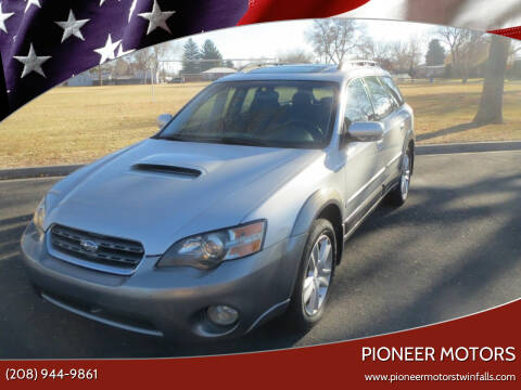2005 Subaru Outback for sale at Pioneer Motors in Twin Falls ID