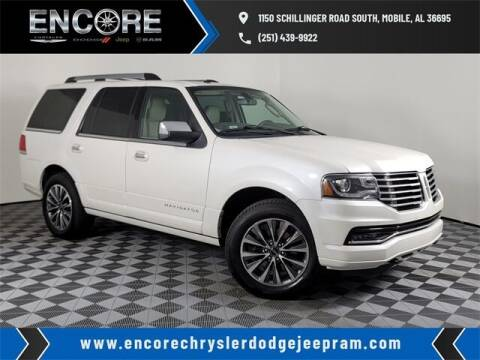 2017 Lincoln Navigator for sale at PHIL SMITH AUTOMOTIVE GROUP - Encore Chrysler Dodge Jeep Ram in Mobile AL