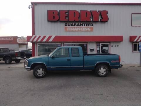 1997 GMC Sierra 1500 for sale at Berry's Cherries Auto in Billings MT