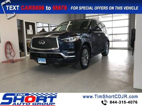 2020 Infiniti QX80 for sale at Tim Short Chrysler in Morehead KY