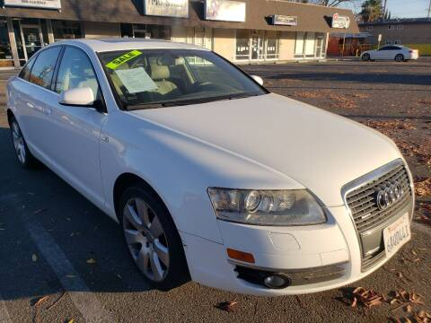 2007 Audi A6 for sale at MCHENRY AUTO SALES in Modesto CA