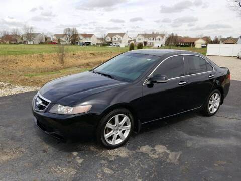 2004 Acura TSX for sale at CALDERONE CAR & TRUCK in Whiteland IN