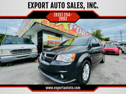 2019 Dodge Grand Caravan for sale at EXPORT AUTO SALES, INC. in Nashville TN