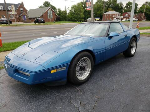 1986 Chevrolet Corvette for sale at STRUTHER'S AUTO MALL in Austintown OH