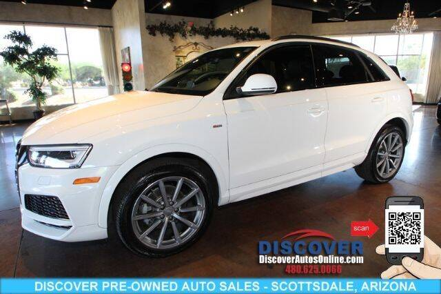 2018 Audi Q3 for sale at Discover Pre-Owned Auto Sales in Scottsdale AZ
