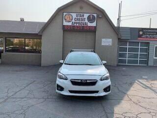 2018 Subaru Impreza for sale at Utah Credit Approval Auto Sales in Murray UT