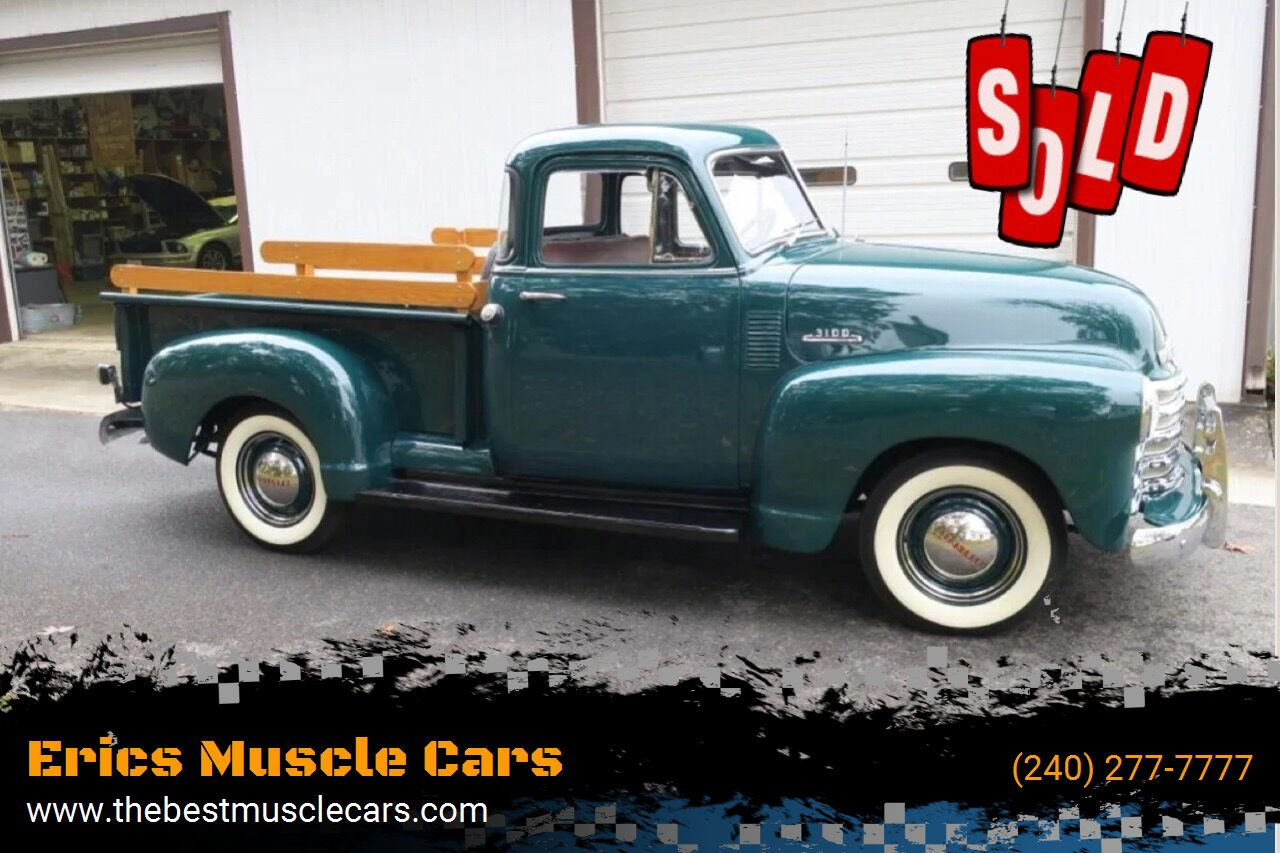 1953 Chevrolet 3100 SOLD SOLD SOLD