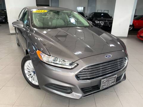 2014 Ford Fusion Hybrid for sale at Auto Mall of Springfield in Springfield IL