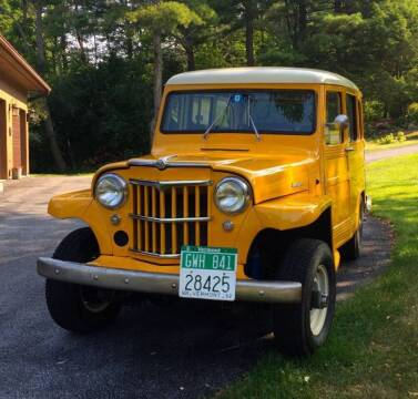 1962 Willys Jeep for sale at Essex Motorsport, LLC in Essex Junction VT