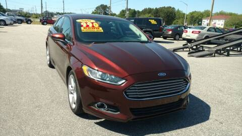 2016 Ford Fusion for sale at Kelly & Kelly Supermarket of Cars in Fayetteville NC
