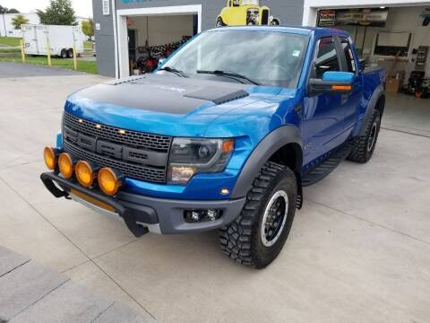 2014 Ford F-150 for sale at Great Lakes Classic Cars & Detail Shop in Hilton NY
