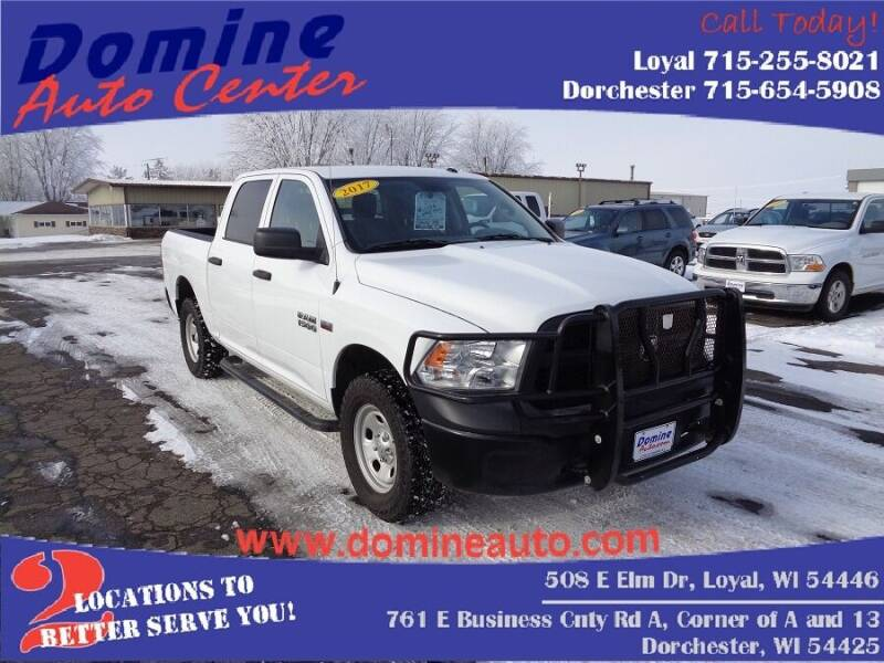2017 RAM Ram Pickup 1500 for sale at Domine Auto Center in Loyal WI