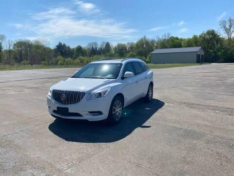 2017 Buick Enclave for sale at Caruzin Motors in Flint MI