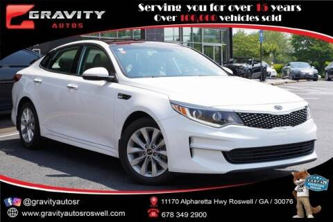 2017 Kia Optima for sale at Gravity Autos Roswell in Roswell GA