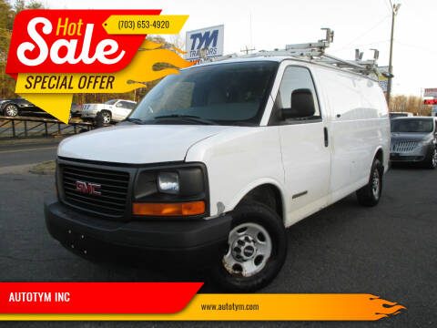 2006 GMC Savana Cargo for sale at AUTOTYM INC in Fredericksburg VA