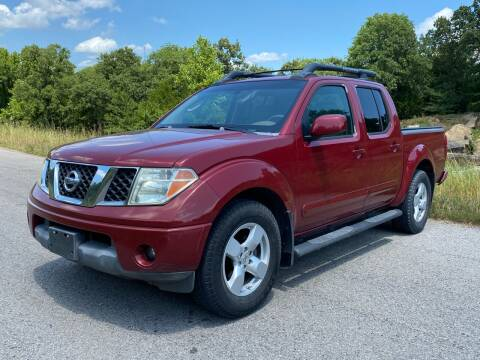 2006 Nissan Frontier for sale at TINKER MOTOR COMPANY in Indianola OK