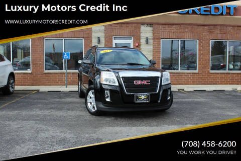 2013 GMC Terrain for sale at Luxury Motors Credit Inc in Bridgeview IL