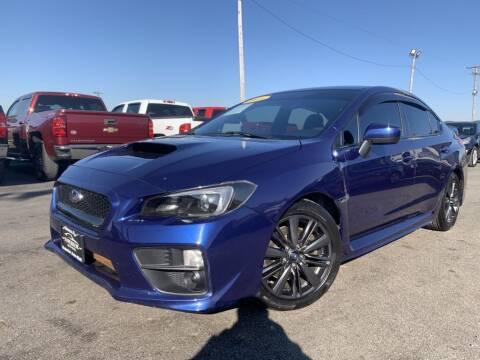 2017 Subaru WRX for sale at Superior Auto Mall of Chenoa in Chenoa IL