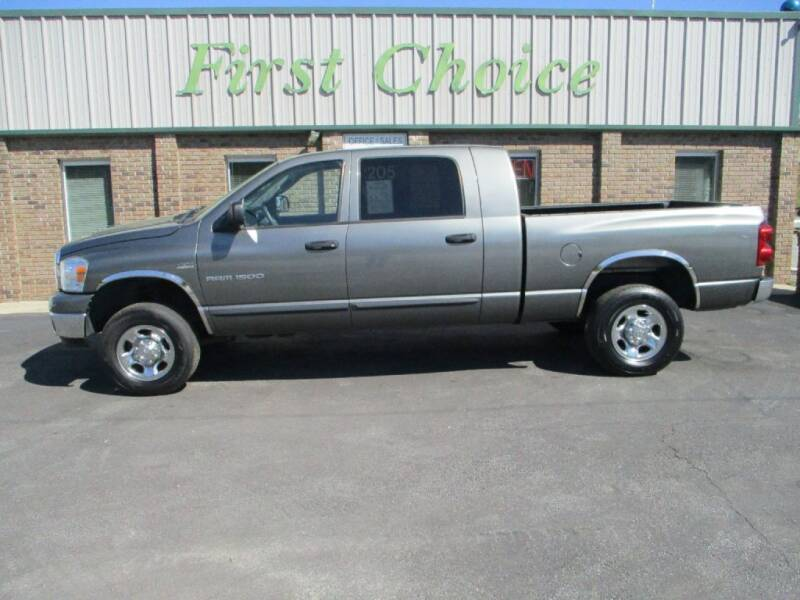 2007 Dodge Ram Pickup 1500 for sale at First Choice Auto in Greenville SC