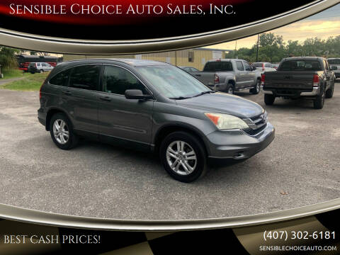 2010 Honda CR-V for sale at Sensible Choice Auto Sales, Inc. in Longwood FL