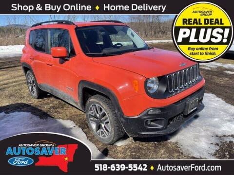 2015 Jeep Renegade for sale at Autosaver Ford in Comstock NY