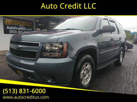 2008 Chevrolet Tahoe for sale at Auto Credit LLC in Milford OH