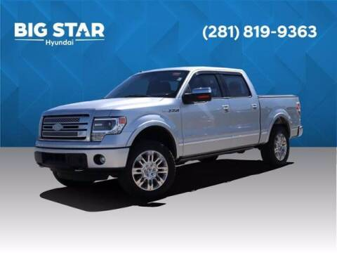 2014 Ford F-150 for sale at BIG STAR HYUNDAI in Houston TX