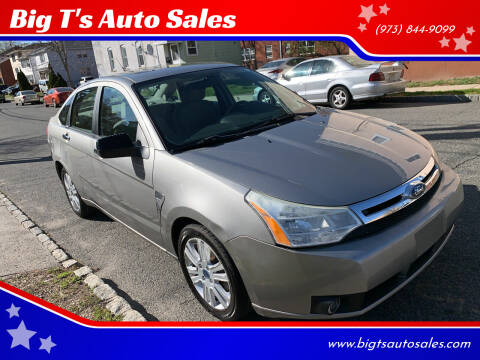 2008 Ford Focus for sale at Big T's Auto Sales in Belleville NJ