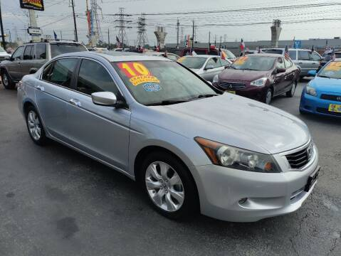 2010 Honda Accord for sale at Texas 1 Auto Finance in Kemah TX