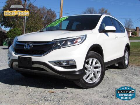 2016 Honda CR-V for sale at High-Thom Motors in Thomasville NC