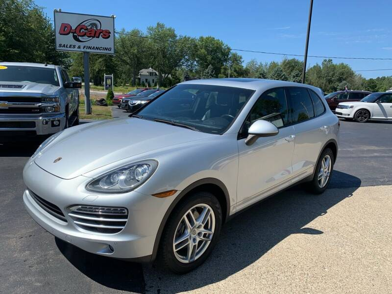 2012 Porsche Cayenne for sale at D-Cars LLC in Zeeland MI